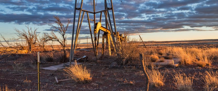 First Nevada Oil Well